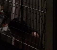 Hawt telugu maid girl having bath in her balcony captured