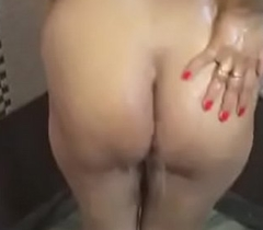 Sexy girl nude bath front and back