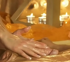 Sensual Rub down Be worthwhile for His Tired Cock