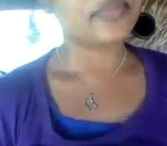 desi sexy gf dissimulate gut and vagina to beau in tuk-tuk -video