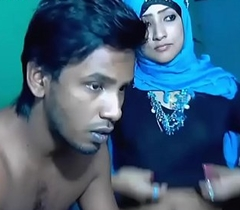 Newly Married South Indian Shore up steady With Ultra Hot Babe Webcam Show Hot