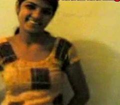 Youthful indian desi village bungler legal age teenager has vanilla sex