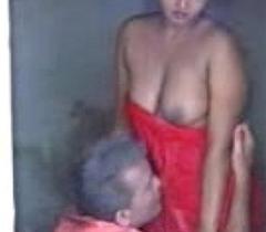 Rohini in Bathroom