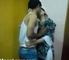 XXX Indian Couple Hard-core Kissing