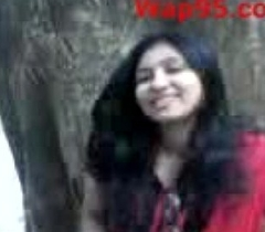 Indian academy couple kiss outdoor