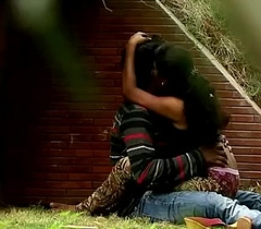 Indian Couple Boob Excite &amp_ Fuck In Park