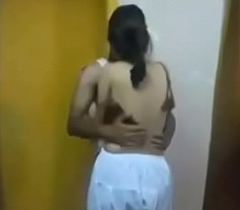 Indian legal age teenager muslim girl fuck by her band together