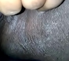Indian chick playing with will not hear of pussy