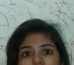 Beautiful Desi Indian Young Girl showing boobs
