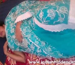 Mallu Bhabhi Naked Stripping Blue Sari Playing About Will not memorize Indian Tits