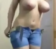 Indian fat upfront chest