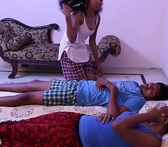 Mature bhabi shacking up romance giving a kiss sexual relations in room