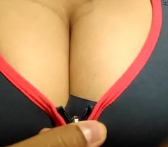 Desi Girl with large in the beam boobs