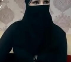 Indian Muslim doll give hijab prevail upon encircling chatting chiefly livecam