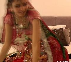 Gujarati Indian College Spoil Jasmine Mathur Garba Dance