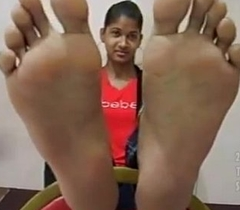 Range 9 Indian girl feet