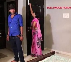 indian beautiful teacher tempting to her student be expeditious for romance.......telugu hot shortfilm