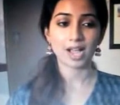 Bengali caroller Shreya Goshal acquires spit and cummed